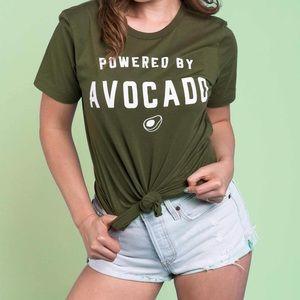 Popflex Tops - Popflex powered by avocado tee